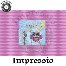 214142. Рисовая декупажная карта Impressio.  25 г/м2