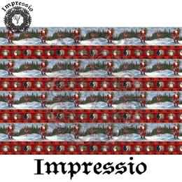 214342. Рисовая декупажная карта Impressio.  25 г/м2
