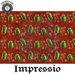 214345. Рисовая декупажная карта Impressio.  25 г/м2