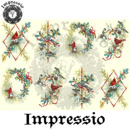 214358. Рисовая декупажная карта Impressio.  25 г/м2