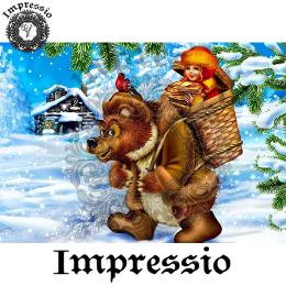 214369. Рисовая декупажная карта Impressio.  25 г/м2