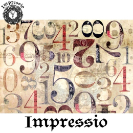 214419. Рисовая декупажная карта Impressio.  25 г/м2