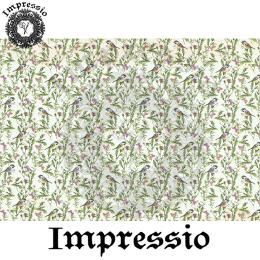 214605. Рисовая декупажная карта Impressio.  25 г/м2