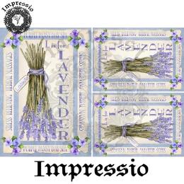 214653. Рисовая декупажная карта Impressio.  25 г/м2