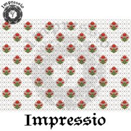 214685. Рисовая декупажная карта Impressio.  25 г/м2