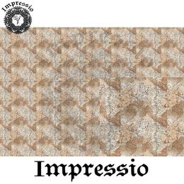 214687. Рисовая декупажная карта Impressio.  25 г/м2