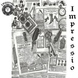 214701. Рисовая декупажная карта Impressio.  25 г/м2