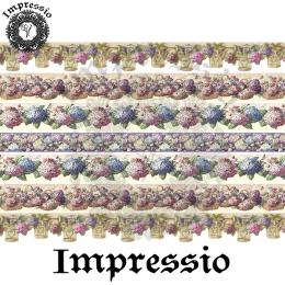 214711. Рисовая декупажная карта Impressio.  25 г/м2