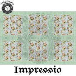 214871. Рисовая декупажная карта Impressio.  25 г/м2