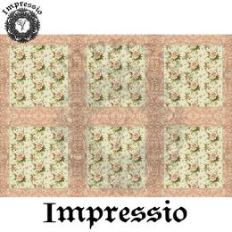 214872. Рисовая декупажная карта Impressio.  25 г/м2