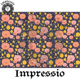 214899. Рисовая декупажная карта Impressio.  25 г/м2