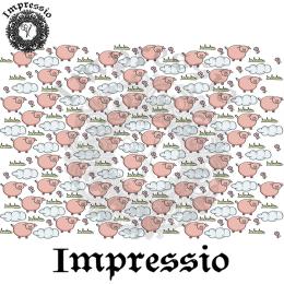 214900. Рисовая декупажная карта Impressio.  25 г/м2