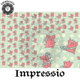 214904. Рисовая декупажная карта Impressio.  25 г/м2