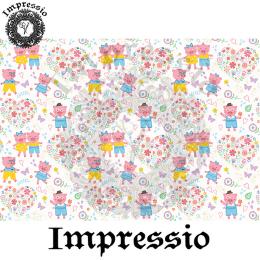 214911. Рисовая декупажная карта Impressio.  25 г/м2