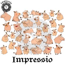 214917. Рисовая декупажная карта Impressio.  25 г/м2