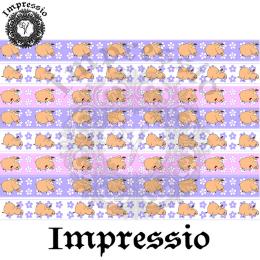 214997. Рисовая декупажная карта Impressio.  25 г/м2