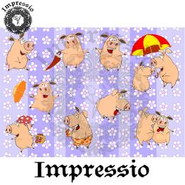 215002. Рисовая декупажная карта Impressio.  25 г/м2