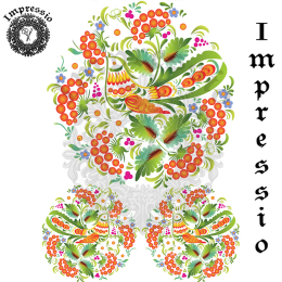 215012. Рисовая декупажная карта Impressio.  25 г/м2