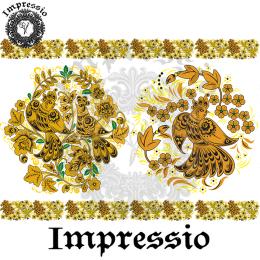 215020. Рисовая декупажная карта Impressio.  25 г/м2