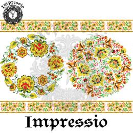 215021. Рисовая декупажная карта Impressio.  25 г/м2