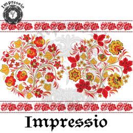 215022. Рисовая декупажная карта Impressio.  25 г/м2