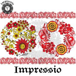 215023. Рисовая декупажная карта Impressio.  25 г/м2