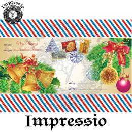 215044. Рисовая декупажная карта Impressio.  25 г/м2