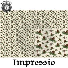 215047. Рисовая декупажная карта Impressio.  25 г/м2