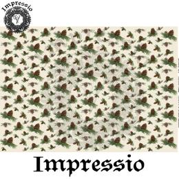 215048. Рисовая декупажная карта Impressio.  25 г/м2