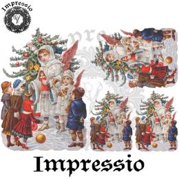 215049. Рисовая декупажная карта Impressio.  25 г/м2