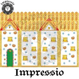 215094. Рисовая декупажная карта Impressio.  25 г/м2