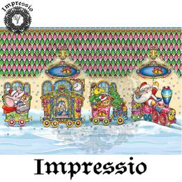 215102. Рисовая декупажная карта Impressio.  25 г/м2