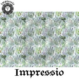 215279. Рисовая декупажная карта Impressio. 25 г/м2