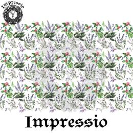 215280. Рисовая декупажная карта Impressio. 25 г/м2
