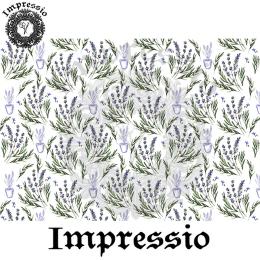 215282. Рисовая декупажная карта Impressio. 25 г/м2