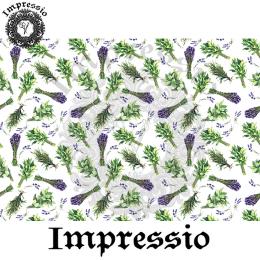 215284. Рисовая декупажная карта Impressio. 25 г/м2