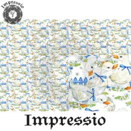 215297. Рисовая декупажная карта Impressio. 25 г/м2