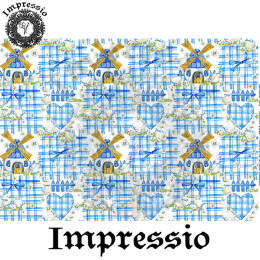 215299. Рисовая декупажная карта Impressio. 25 г/м2