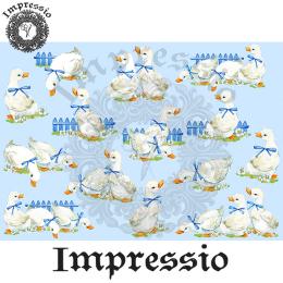 215300. Рисовая декупажная карта Impressio. 25 г/м2