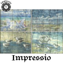 215333. Рисовая декупажная карта Impressio. 25 г/м2