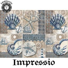 215337. Рисовая декупажная карта Impressio. 25 г/м2