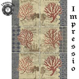 215339. Рисовая декупажная карта Impressio. 25 г/м2