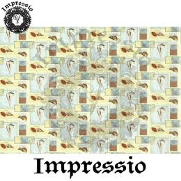 215343. Рисовая декупажная карта Impressio. 25 г/м2