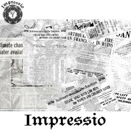 215351. Рисовая декупажная карта Impressio. 25 г/м2