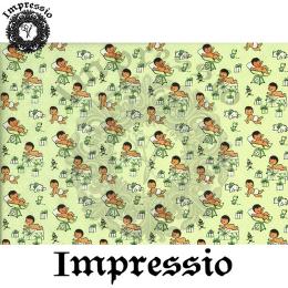 215368. Рисовая декупажная карта Impressio. 25 г/м2