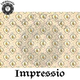 215370. Рисовая декупажная карта Impressio. 25 г/м2