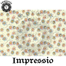 215371. Рисовая декупажная карта Impressio. 25 г/м2