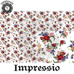 215372. Рисовая декупажная карта Impressio. 25 г/м2