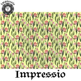 215407. Рисовая декупажная карта Impressio. 25 г/м2