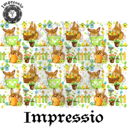 215414. Рисовая декупажная карта Impressio. 25 г/м2